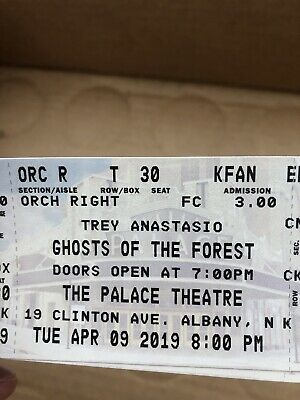 Trey Anastasio Ghosts In The Forest Tickets Tuesday April 9 Phish Albany