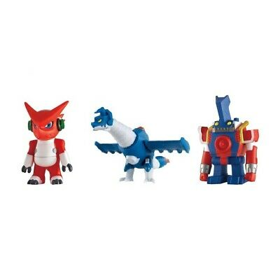 Digimon Sofubi Digital Monster Series Xros Wars Soft Vinyl Digimon Fusion 3 Set
