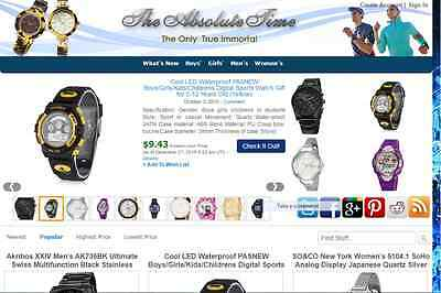 ccccLOVELY WATCH STORE - FULLY DEVELOPED AMAZON AFFILIATE WEBSITE - Free Hosting