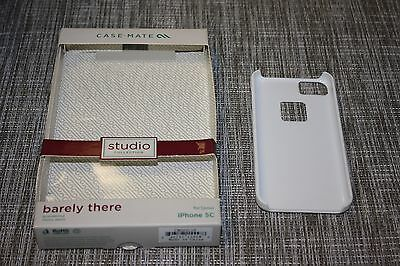 Case Mate Apple iPhone 5c Case - White - PLEASE READ 312