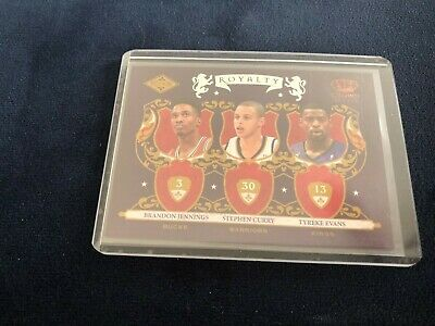 2009-10 Steph Curry Crown Royal Rookie Royalty 1
