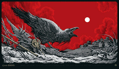 Game of Thrones Print The Harbinger Ken Taylor Sold out Mondo