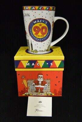 Macys 2016 Thanksgiving Day Parade 90 Years Mug Coffee Cup Limited Edition - New