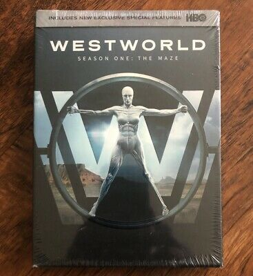 Westworld The Complete First Season 1 DVD 2017 3-Disc Set NEW