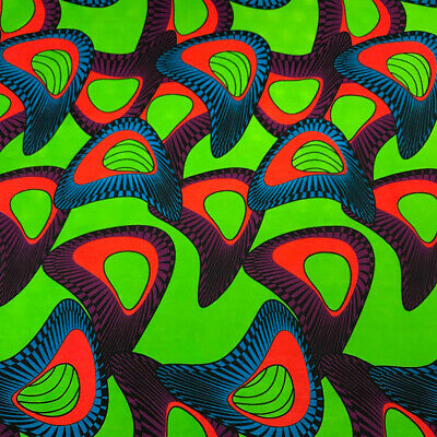 African Print Fabric 100 Cotton 44 wide sold by the yard 90146-3