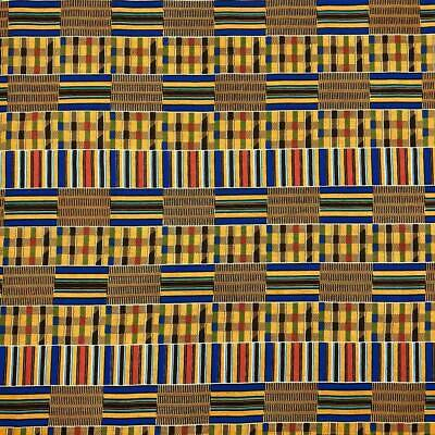African Print Fabric 100 Cotton 44 wide sold by the yard 90197-2