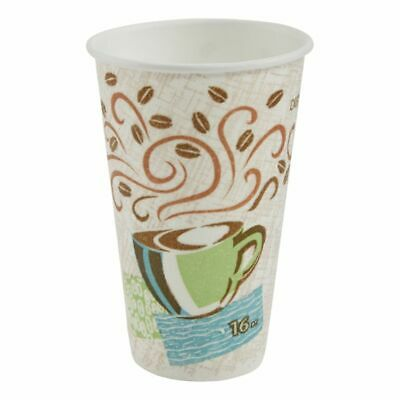 Dixie PerfecTouch by GP PRO Hot Cups 16 Oz Pack Of 50 Cups