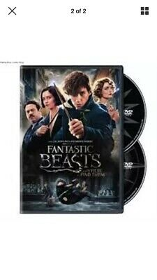 Fantastic Beasts and Where to Find Them DVD 2017 2-Disc Set NEW-