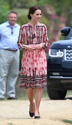 Topshop Embroidery Dress Aso Kate Middleton
