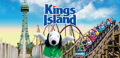 KINGS ISLAND - General Admissions - 4x Single Day E-Tickets - Great Value