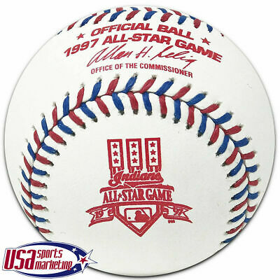 Rawlings 1997 MLB All Star Official Game Baseball Cleveland Indians - Boxed