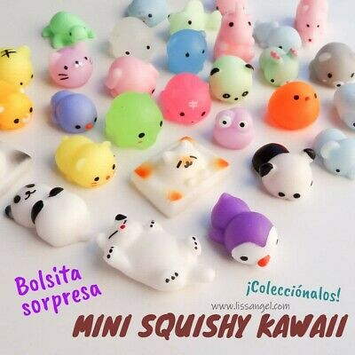 25 Squishy Lot Slow Rising fidget toy Kawaii Cute Animal Hand Toy Wholesale