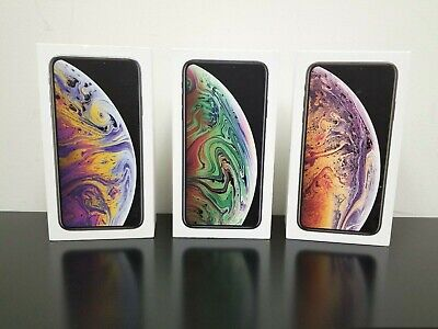 iPhone XS Xs Max Box Original Apple Retail Packaging with Manual Sim Tool Only