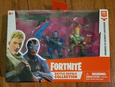 Fortnite Battle Royale Collection Sergeant Jonesy Carbide Mini Figures Epic NEW