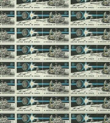 1434-35 8 cent Space Achievement full mint sheet of 50 MNH OG