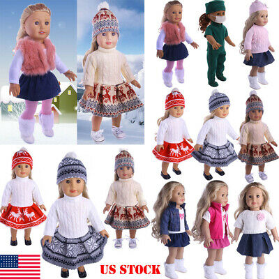 Doll Clothes Pajames Laceskirt for 18 American Girl Our Generation My Life Doll
