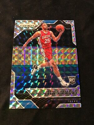 BEN SIMMONS RC 2016-17 PRIZM MOSAIC 6 ROOKIE 76ERS HOT Rookie