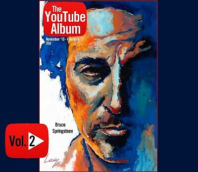 Bruce Springsteen The YouTube Album Vol 2 3-CD Born To Run Stayin Alive Royals