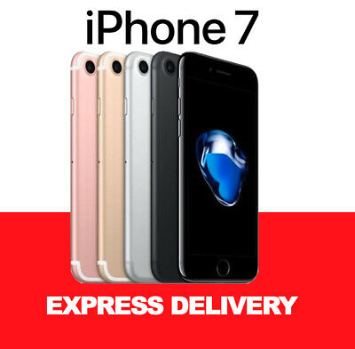Apple iPhone 7 32GB 128GB 256GB 4G 100 Factory Unlocked Smartphone MR