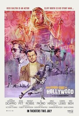 ONCE UPON A TIME IN HOLLYWOOD 12 x 18 Movie Collectors Poster Print 12x18