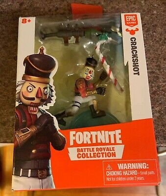 MOOSE TOYS FORTNITE BATTLE ROYALE COLLECTION CRACKSHOT 2  INCH IN HAND