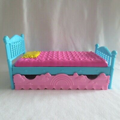 NEW Mattel Barbie Club Chelsea Little Sister Doll House Trundle Bed  Furniture