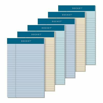 TOPS Prism- Color Writing Pads 5 x 8 Legal Ruled Assorted Colors 6-Pack