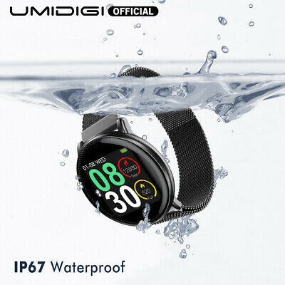 UMIDIGI Uwatch2 Smart Watch For Andriod IOS Full Touch Screen Sport Monitor NEW