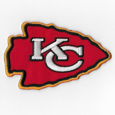Kansas City Chiefs e Iron on Patch Embroidered Football Patches