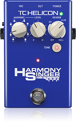 TC Helicon Harmony Singer 2 Battery-Powered Vocal Effects Stompbox - Warranty