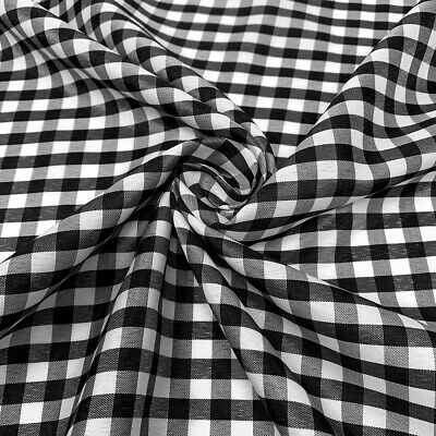 Gingham 14 Wide Square Fabric 60 Wide Checkered Plaid Design By The Yard