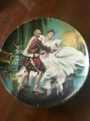 The King and I  Shall we dance plate  4299G