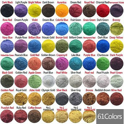 10g Cosmetic Grade Natural Mica Powder Soap Candle Colorant Dye