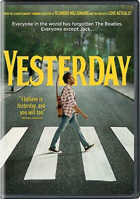 Yesterday DVD Brand New Factory Sealed FREE SHIPPING SHIPS NOW