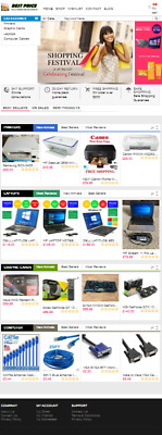 Ready made Dropshipping website - Computer Accessories