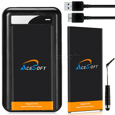 AceSoft 6820mAh Battery or Charger for Verizon Samsung Galaxy S5 SM-G900V Phone