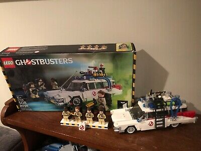 LEGO Ghostbusters Ecto-1 21108 Complete Movie Set