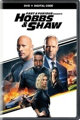 Fast And Furious Presents HOBBS - SHAW - DVD - Like New NO DIGITAL