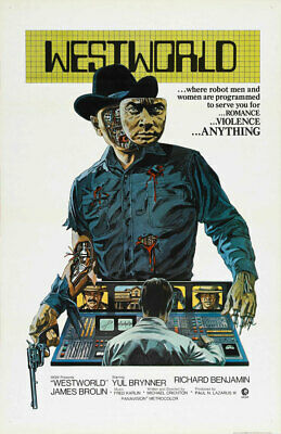 WESTWORLD REPLICA 1973 MOVIE POSTER