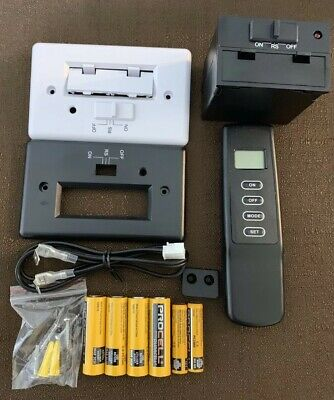 Fireplace Thermostatic Remote Control Kit Skytech Compatible WBatteries New