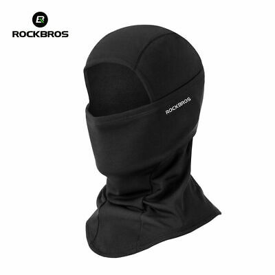 ROCKBROS Winter Thermal Black Face Mask Headwear Outdoor Sports Cap One Size