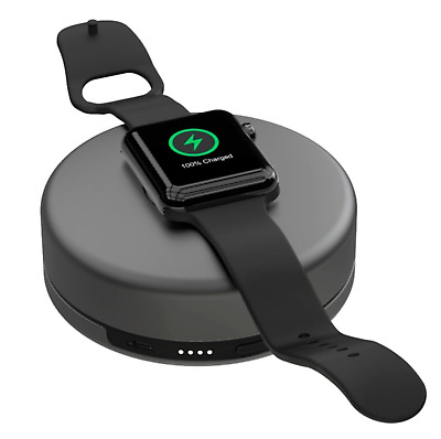 New - Nomad Charging Pod for Apple Watch - pod-apple-sg-001 - Space Gray