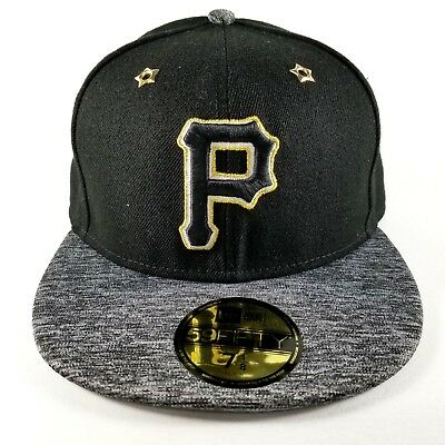 Pittsburgh Pirates New Era 59FIFTY Baseball Hat SZ 7 18 2016 MLB All Star Game