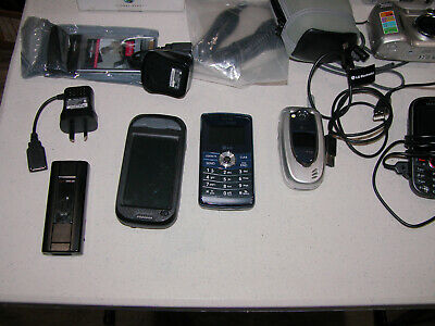 Misc Electronics Cell phones Cameras and Comm