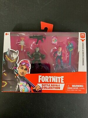 Fortnite Battle Royale Collection Duo Pack OMEGA - BRITE BOMBER Figures NEW