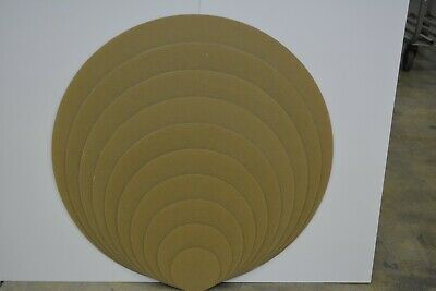 Plastic Circle Disc Round Acrylic Sheet Clear 18  CHOOSE A SIZE