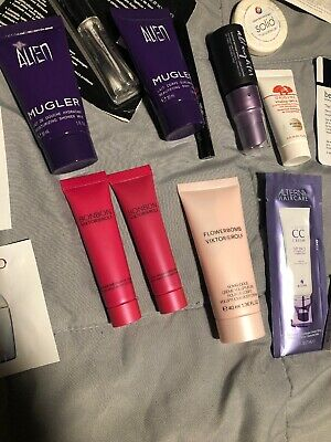 Huge Lot 30-Deluxe Beauty Samples Full Sized And Mini Sized Items- Sephora Ulta