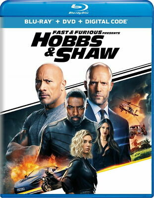 Fast AND Furious Presents Hobbs - Shaw-BLURAY ONLY with Caseartwork - Ships Now