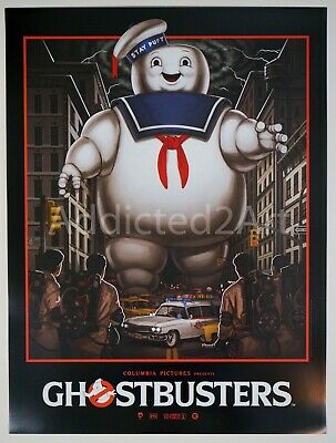 Mike Mitchell - Ghostbusters - Limited Edition Glossy Movie Poster Art Print