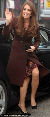 Kate Middleton Great Plains Cezanne Pleated Dress